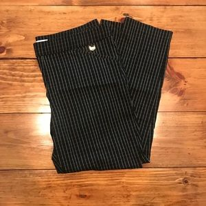 Black and White Plaid Dress Pants